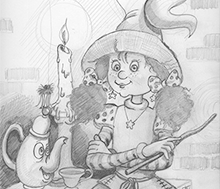 "Storybook comp. ""Pencil drawing"""