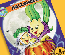 Bud and Ally's Halloween Coloring and Activity book