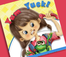 Yum Yuck! Cover design tryout