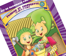 """""""My very First Garden"""" Coloring book, activity gardening kit"""